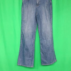 Christopher & Banks 8 Short Funky Jeans Bootcut